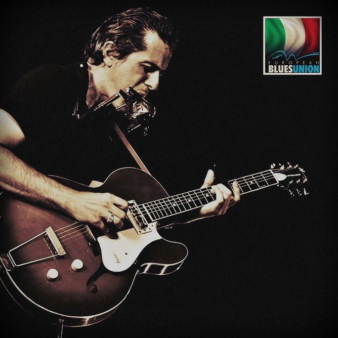 Marco Pandolfi Trio will represent Italy at the 4th. European Blues Challenge